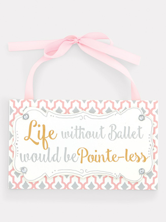 Ballet Wall Plaque - Style No 10849