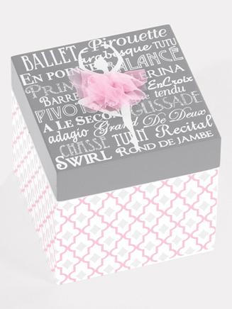 Ballet Trinket Box - Style No 10928
