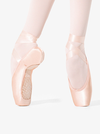 "Womens ""Donatella"" Pointe Shoe #2 Shank - Style No 1138W"