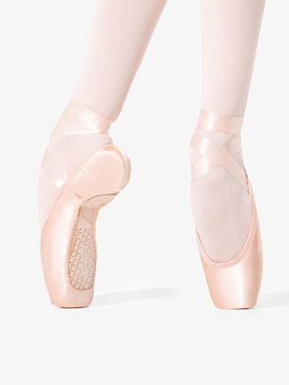 "Womens ""Donatella"" Ballet Pointe Shoe #3 Shank - Style No 1139W"