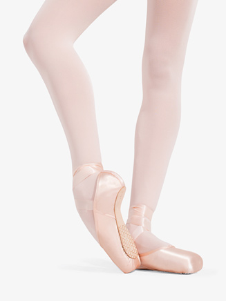 "Womens ""Ava"" Broad Toe Pointe Shoes - Style No 1142W"