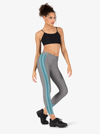 Womens Workout Ankle-Length Compression Leggings - Style No 1305430