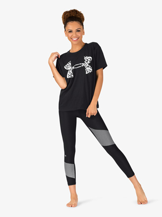"Womens ""Girlfriend"" Crew Neck Active Short Sleeve Tee - Style No 1320617x"