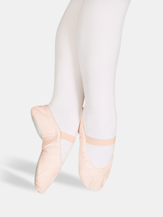 """Star Split"" Child Split-Sole Canvas Ballet Slipper - Style No 15C"