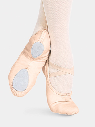 """Cobra"" Child Split-Sole Canvas Ballet Slipper - Style No 2030C"