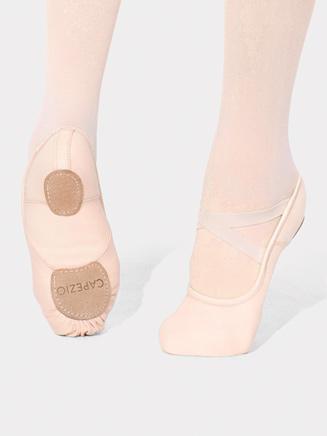 Adult Hanami Split Sole Canvas Ballet Slipper - Style No 2037W