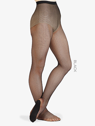 Adult Fishnet Professional Footed Tight - Style No 203