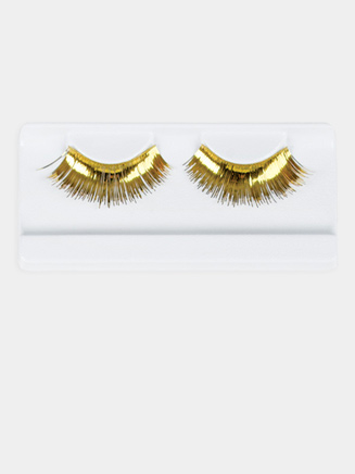 Gold Eyelashes - Style No 2483B