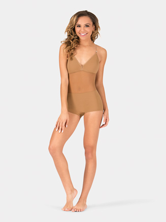 Adult Camisole Mid Panel Shorty Undergarment - Style No 296