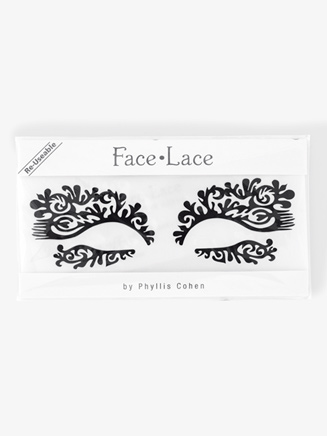 """Featherette"" Stick-On Face Lace - Style No 5001401"