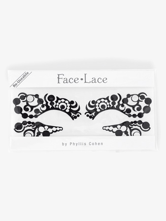 """""""OpTart"""" Stick-On Face Lace - Style No 5001403"""