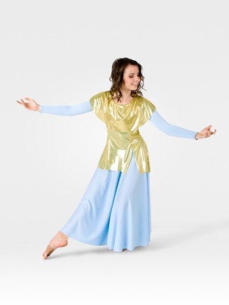 Worship Metallic Tunic Pullover - Style No 577