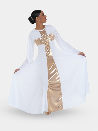 Worship Long Cross Dress - Style No 620