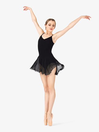 Adult Trestle Back Dance Dress - Style No 7110