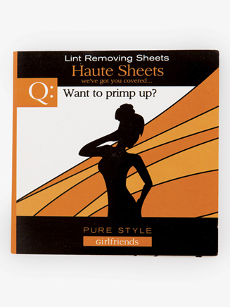 """""""Haute Sheets"""" Lint Remover Sheets - Style No 88023"""