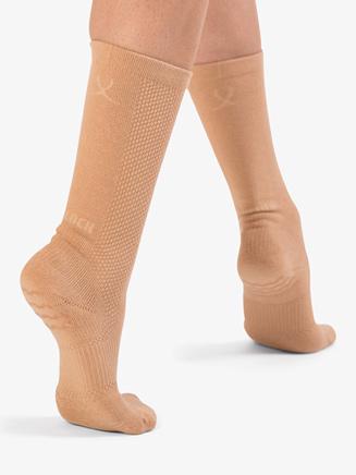 "Unisex ""Blochsox"" Mid-Calf Dance Socks - Style No A1000"