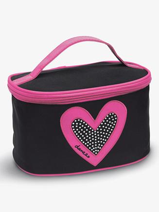 """Heart"" Make-Up Bag - Style No B472BKHP"
