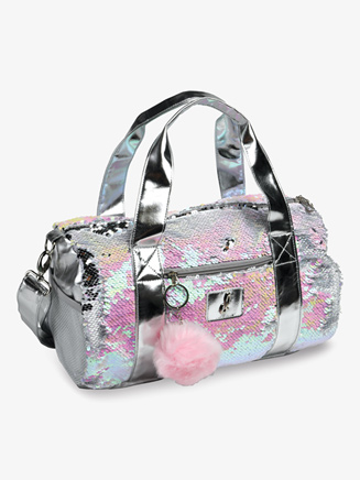 Pearlescent Flip Sequin Dance Duffle Bag - Style No B837