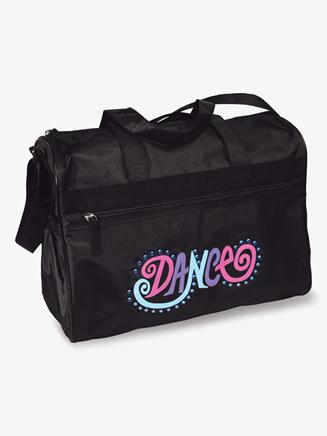 """Dance Bright"" Neon Logo Duffle Bag - Style No B839"