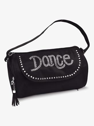 Rhinestone Dance Logo Duffel Bag - Style No B840