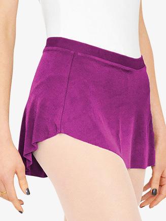 Girls Asymmetrical Hem Pull-On Ballet Skirt - Style No BP13201K