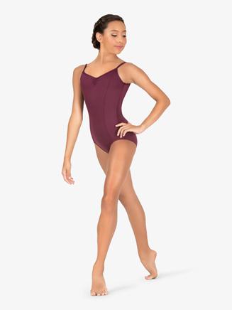Womens Pinch Front Compression Camisole Leotard - Style No BT5170