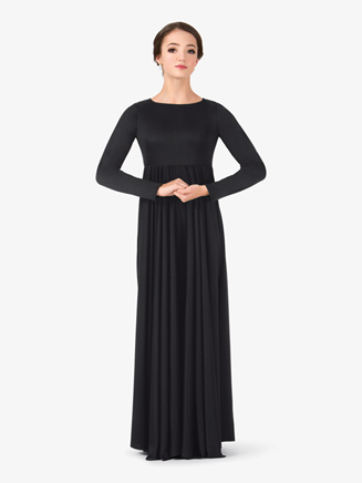 Womens Flowy Worship Dress - Style No BT5190