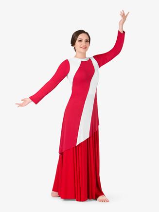 Womens Striped Worship Tunic - Style No BT5198