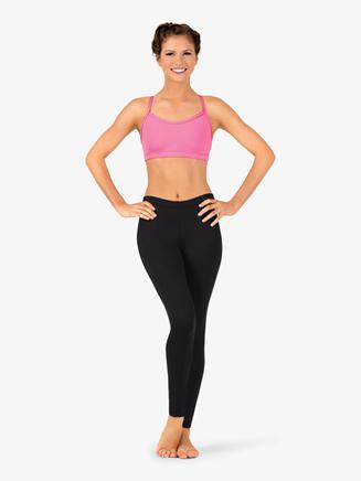 Womens Team Basic Compression Dance Legging - Style No BT5207x