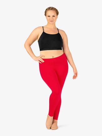 BalTogs Womens Plus Size Team Basic Compression Dance Legging - Style No BT5207P