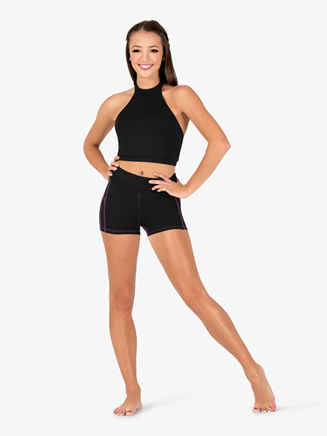 Womens Team Contrast Compression Shorts - Style No BT5223