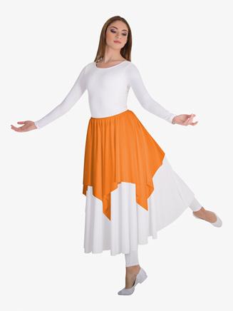 Kids Worship Convertible Shoulder Skirt Handkerchief Drape - Style No BW0600