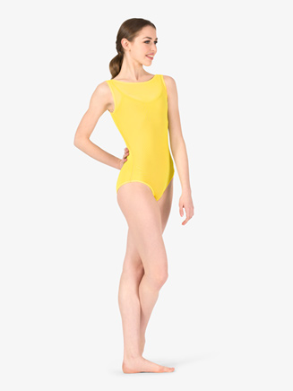 Womens Performance Mesh Tank Leotard - Style No BW8210