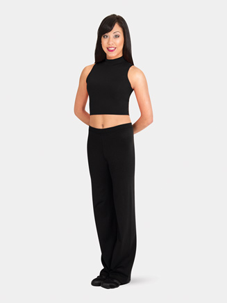 Adult Pullover High Neck Tank Crop Top - Style No BWP263