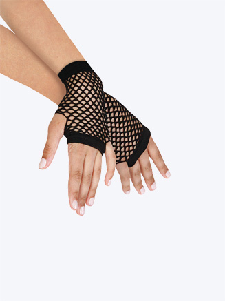 Short Fishnet Gloves - Style No C26991