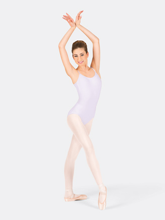 Adult Camisole V-Cut Back Dance Leotard - Style No CC100