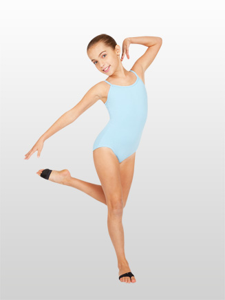 Girls V-Back Camisole Dance Leotard - Style No CC100C