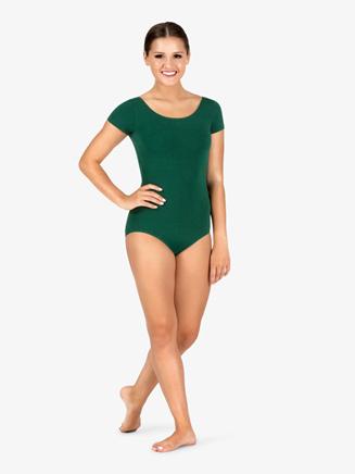 Adult Short Sleeve Dance Leotard - Style No CC400