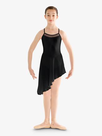 Girls Crisscross Back Camisole Ballet Dress - Style No CL8220