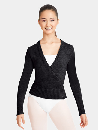 Ladies Classic Knit Wrap Sweater - Style No CS301