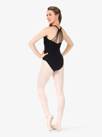 Womens Strappy Back Tank Leotard - Style No D2456A