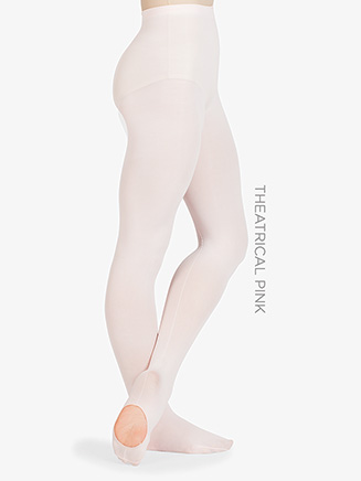 Adult Faux Backseam Convertible Tight - Style No D725