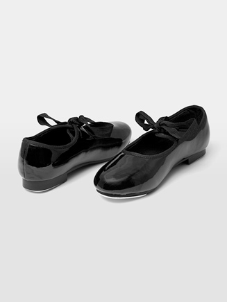 Ribbon Tie Child Tap Shoe - Style No DCT101