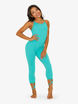 "Womens ""The Diva Suit"" Full-Length Dance Unitard - Style No DS3232"