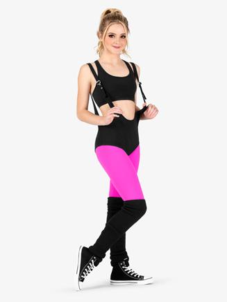 Womens Adjustable Strap Dance Bodysuit - Style No DSJ1054