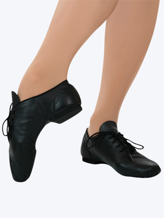 """E-Series"" Adult Lace Up Jazz Shoe - Style No EJ1"