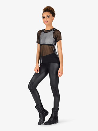 Girls Mesh Top 3-Piece Hip Hop Set - Style No EL127C