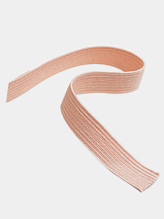 European Pink Narrow Elastic - Style No ELAST