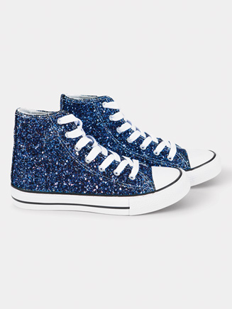Adult Hi-Top Sparkle Sneaker - Style No GLITTER