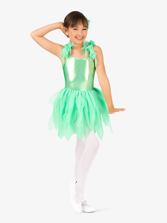 "Girls ""Pixie"" Handkerchief Character Costume Tutu Dress - Style No GRA137C"